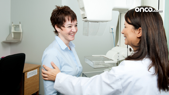 Mammogram for breast cancer