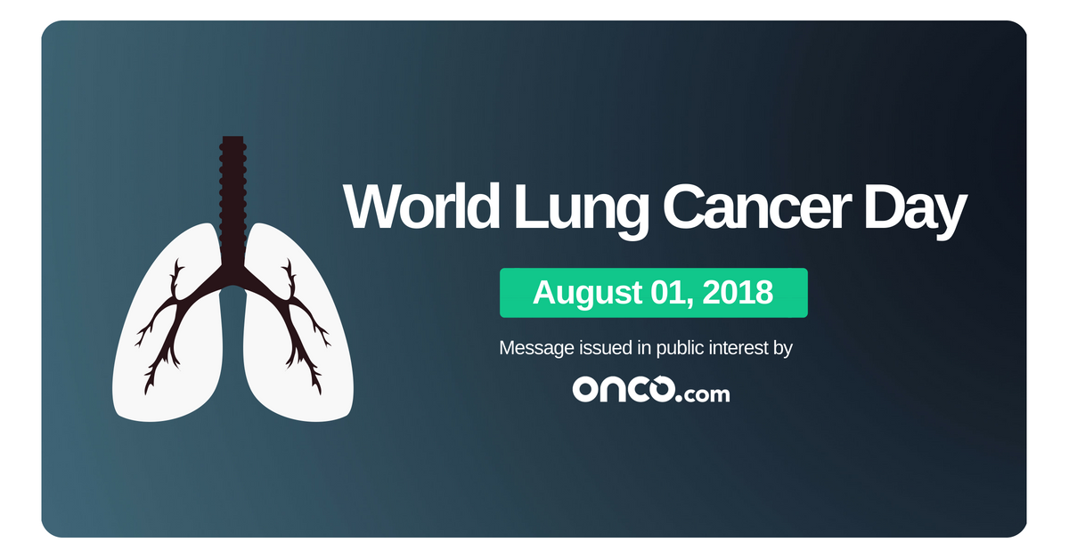 A world lung cancer day