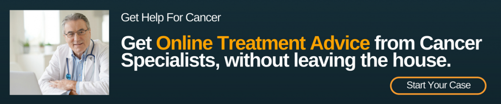 online cancer treatment advice