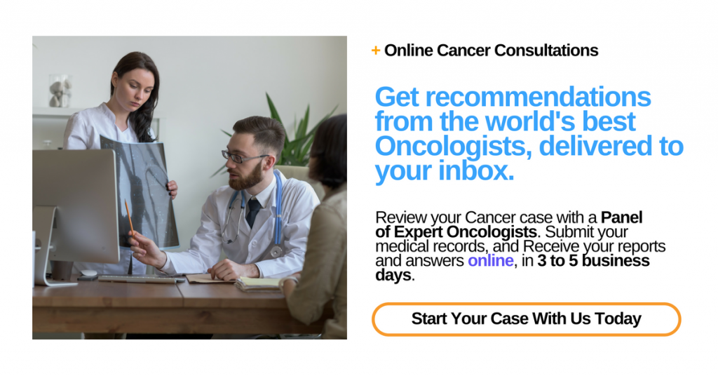 Online cancer consultation