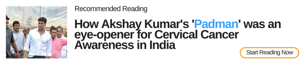 Akshay kumar cervical cancer eye opener