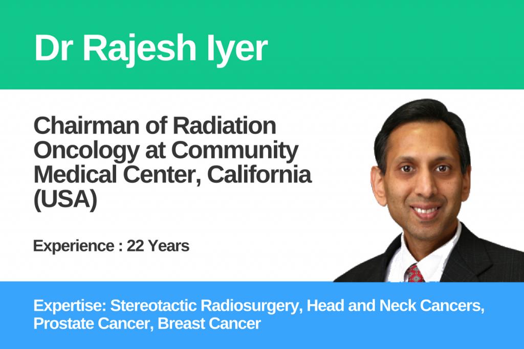 Dr Rajesh Iyer