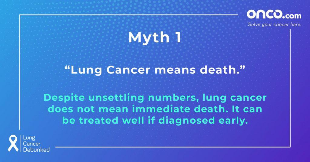 Lung Cancer Myths 1