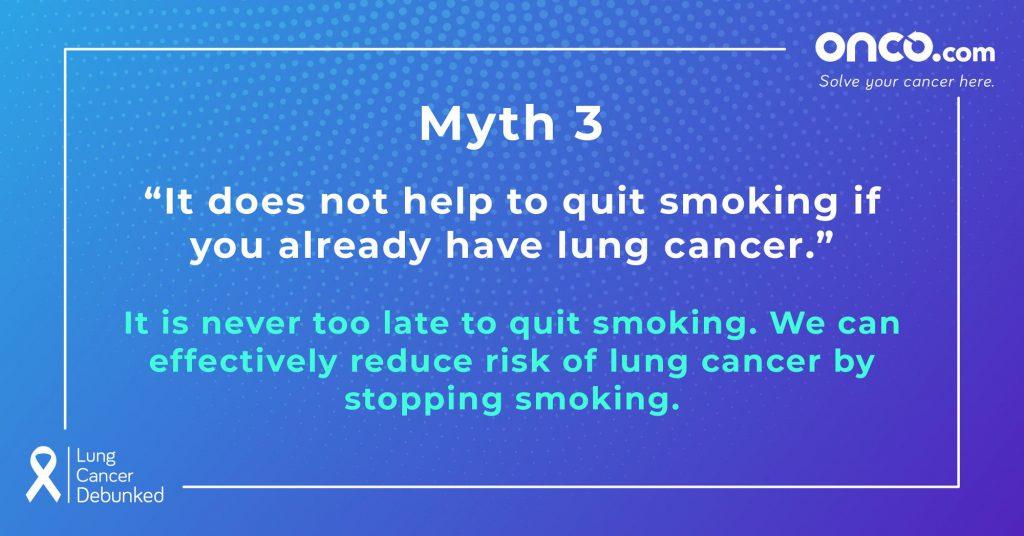 Lung Cancer Myths 3