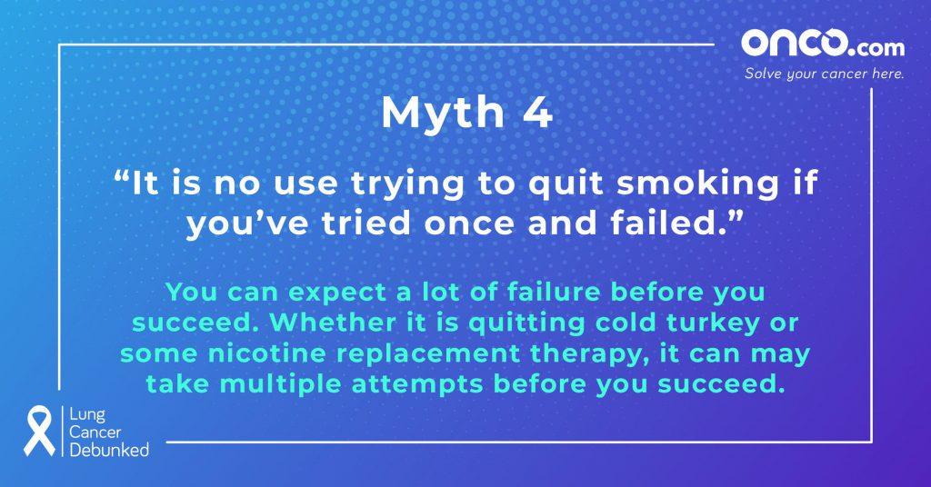 Lung Cancer Myths 4