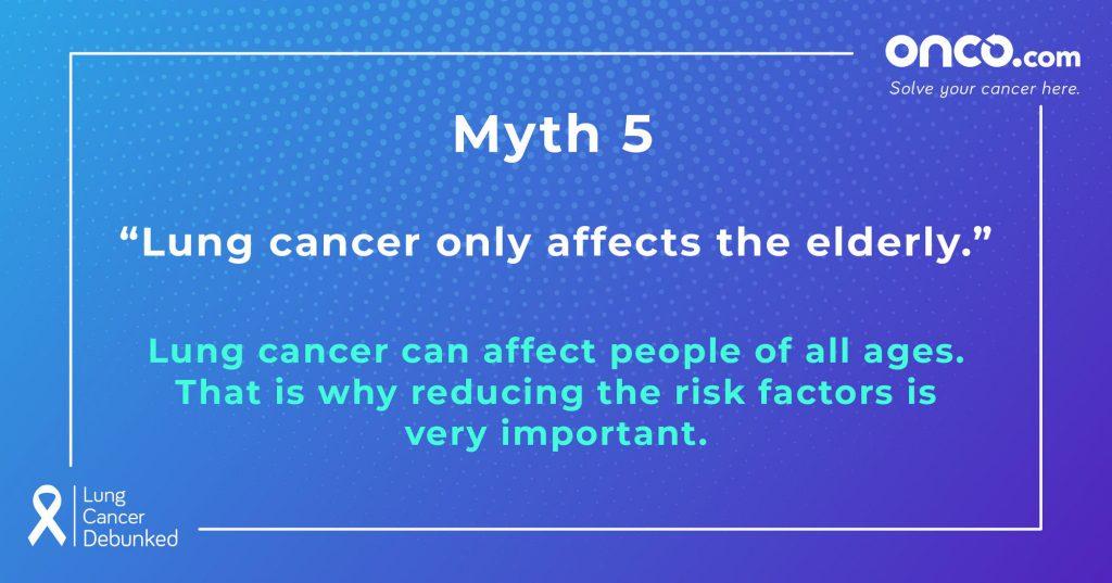 Lung Cancer Myths 5