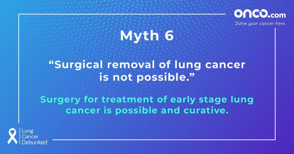 Lung Cancer Myths 6