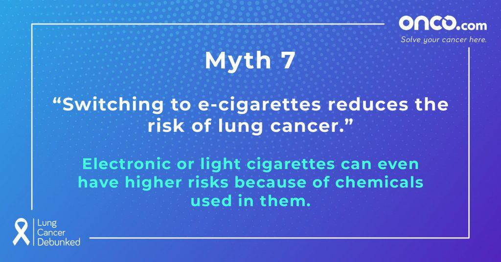 Lung Cancer Myths 7