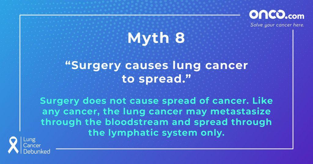 Lung Cancer Myths 8