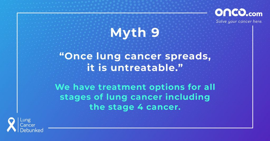 Lung Cancer Myths 9