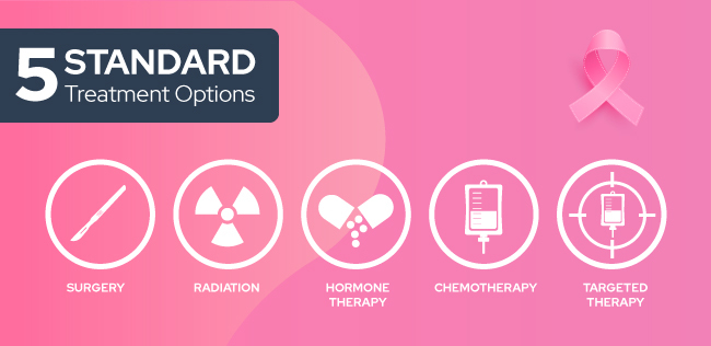 5 standard treatment option for breast cancer