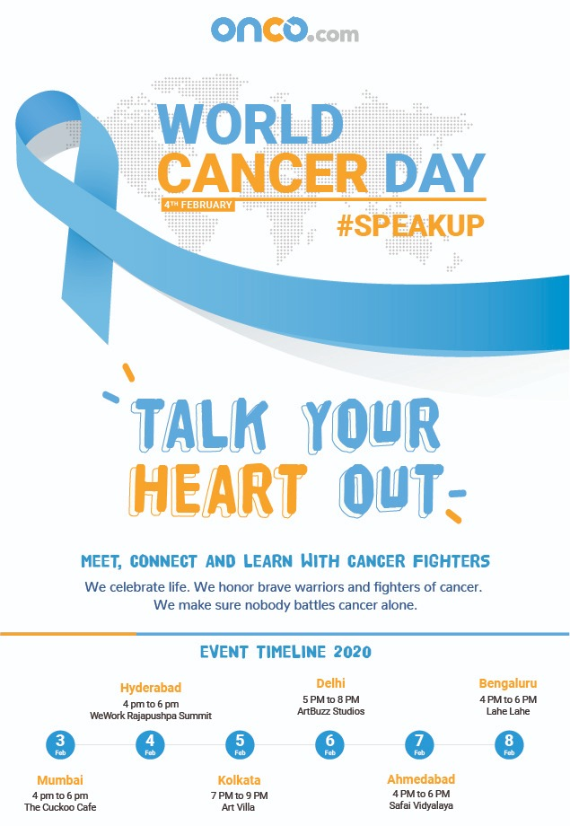 Talk your heart out - self care in cancer