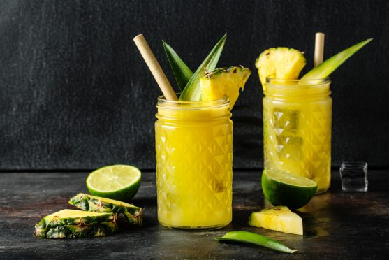 pineapple sweet lime juice for cancer