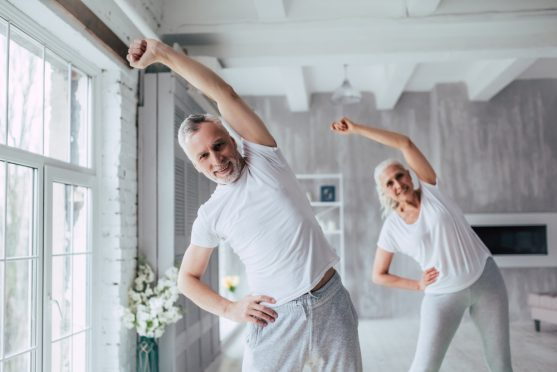 exercises for lung cancer patients: stretches