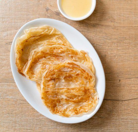 cancer diet for kids: Condensed milk on rotis