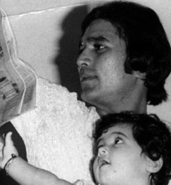 यह महान भारतीय अभिनेता राजेश खन्ना अपने युग के दौरान भारतीय सिनेमा का पहले सुपरस्टार थे।