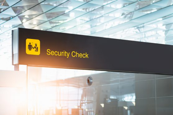 airport security during cancer