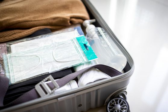 sanitisers for travel