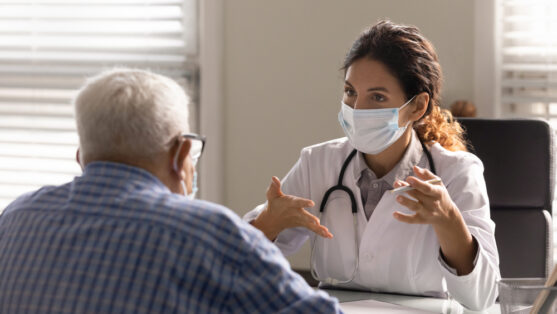 speak to a cancer doctor